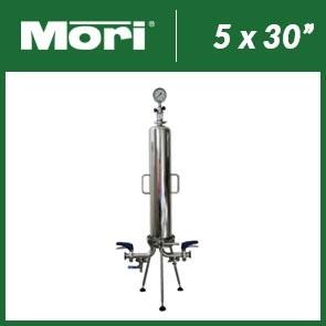 System do mikrofiltracji z wymiennymi wkładami 5x30''