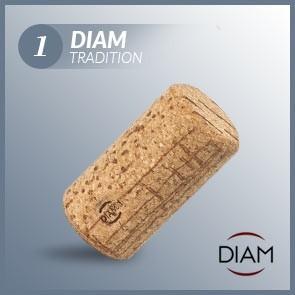 Korki do wina Diam 1 Tradition