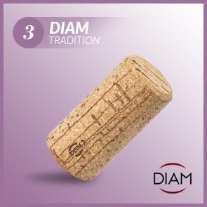 Korki do wina Diam 3 Tradition