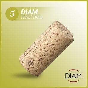 Korki do wina Diam 5 Tradition