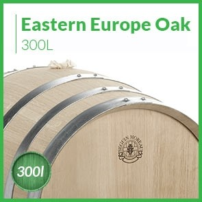 300L Eastern European Oak