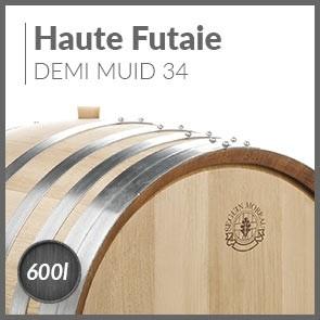 Haute Futaie 600L Demi Muid 34mm