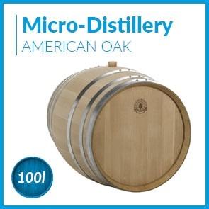 Micro-distillery cask 100L American Oak