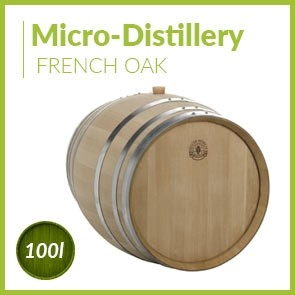 Micro-distillery cask 100L French Oak