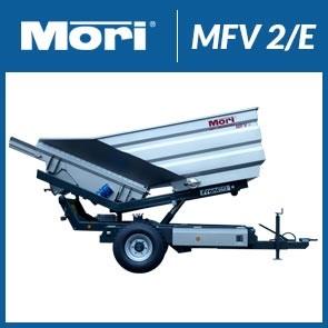 Przyczepa wibracyjna MFV 2/E