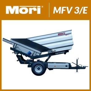 Przyczepa wibracyjna MFV 3/E