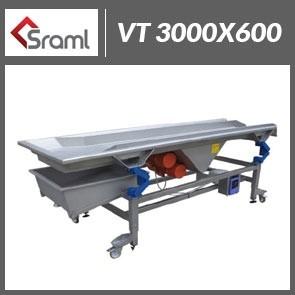 Stół wibracyjny VT 3000x600